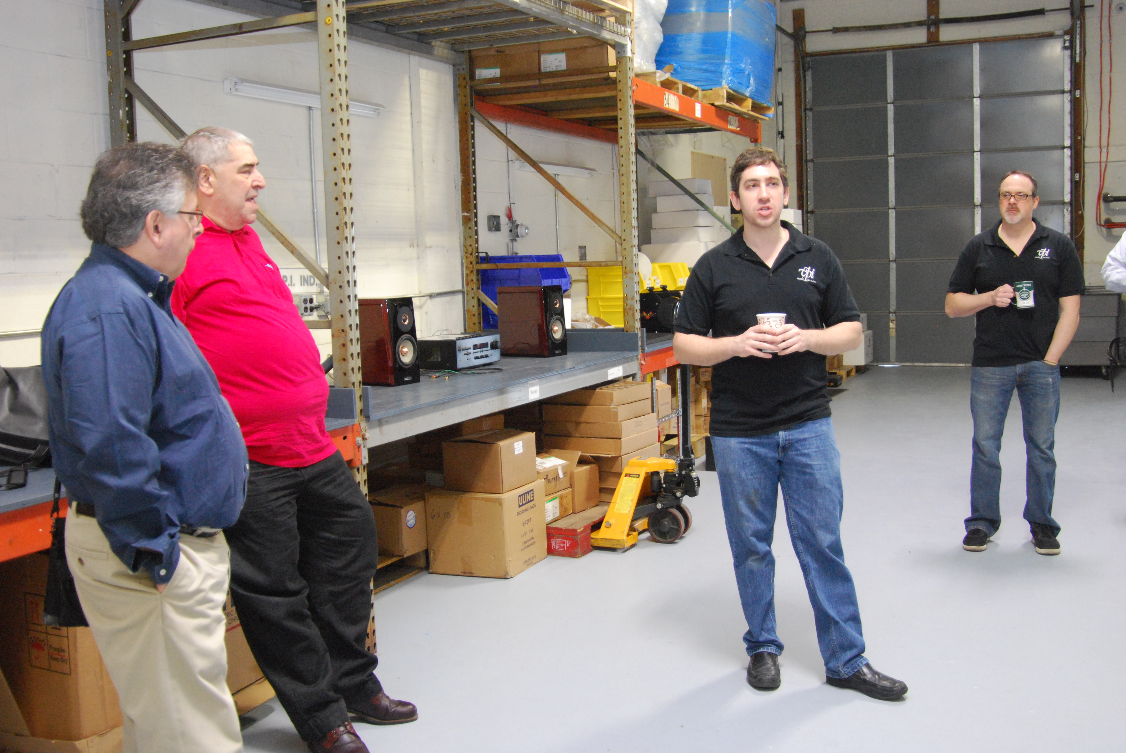 VPI Hosts Press Open House Day: Part I: Factory Tour