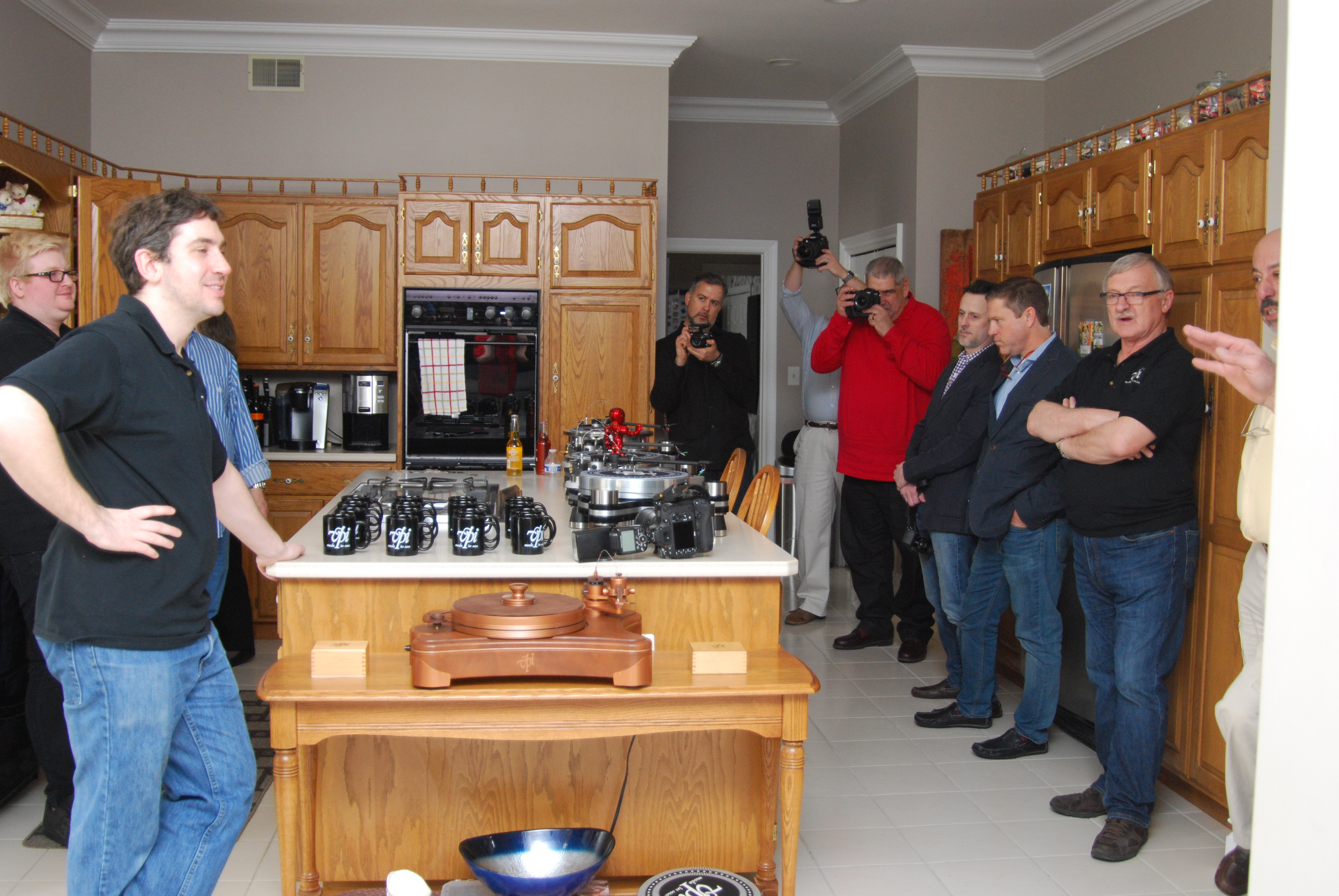 """VPI Hosts Press Open House Day. Part II: The Ultimate """"Man Cave?"""""""