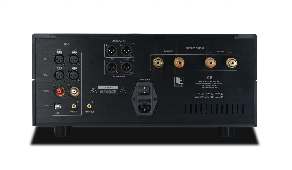 JE Audio IS250 Integrated Amplifier