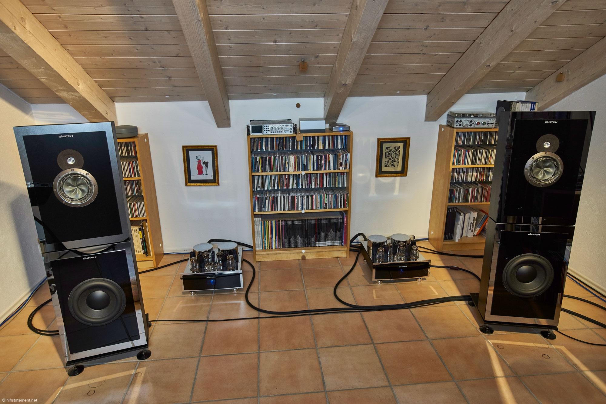 einstein audio components. Black Bedroom Furniture Sets. Home Design Ideas