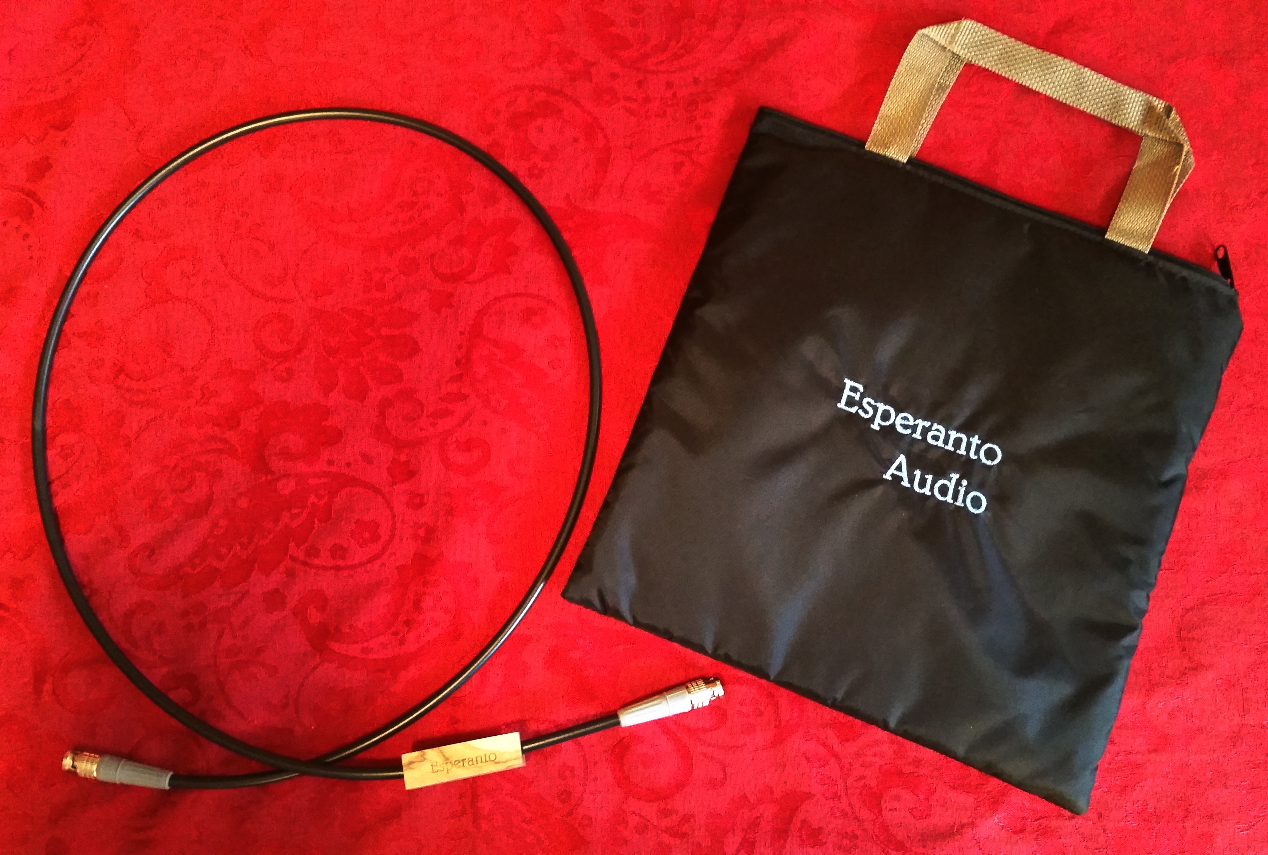 Esperanto Audio Black SPDIF Cable