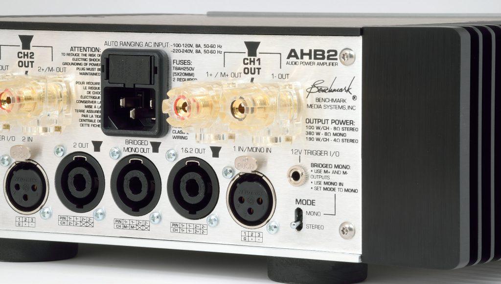 Benchmark AHB2 Amplifier