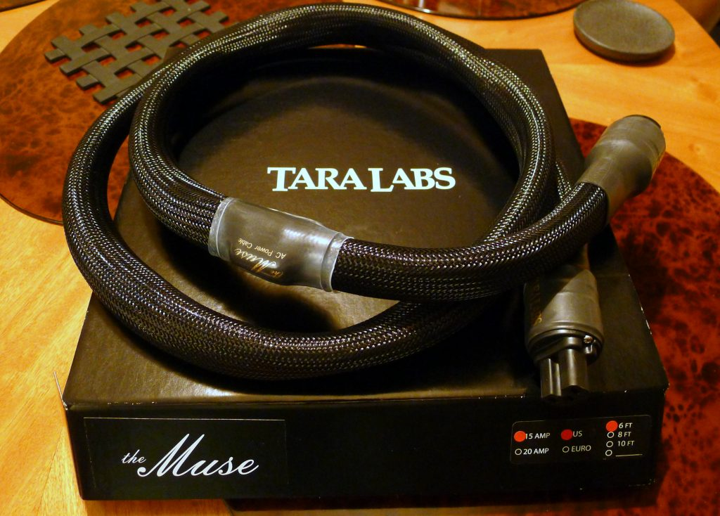 TARA Labs Omega Evolution and The Muse Power Cables