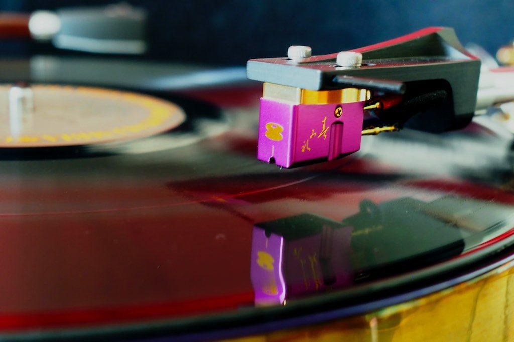 Murasakino Musique Analogue Sumile MC Phonograph Cartridge