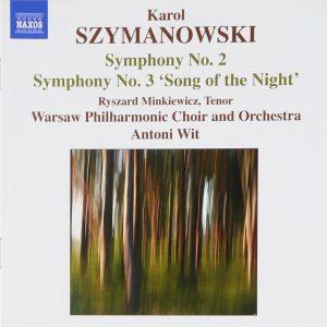 Karol Szymanowski, Symphonies No. 2 and No. 3