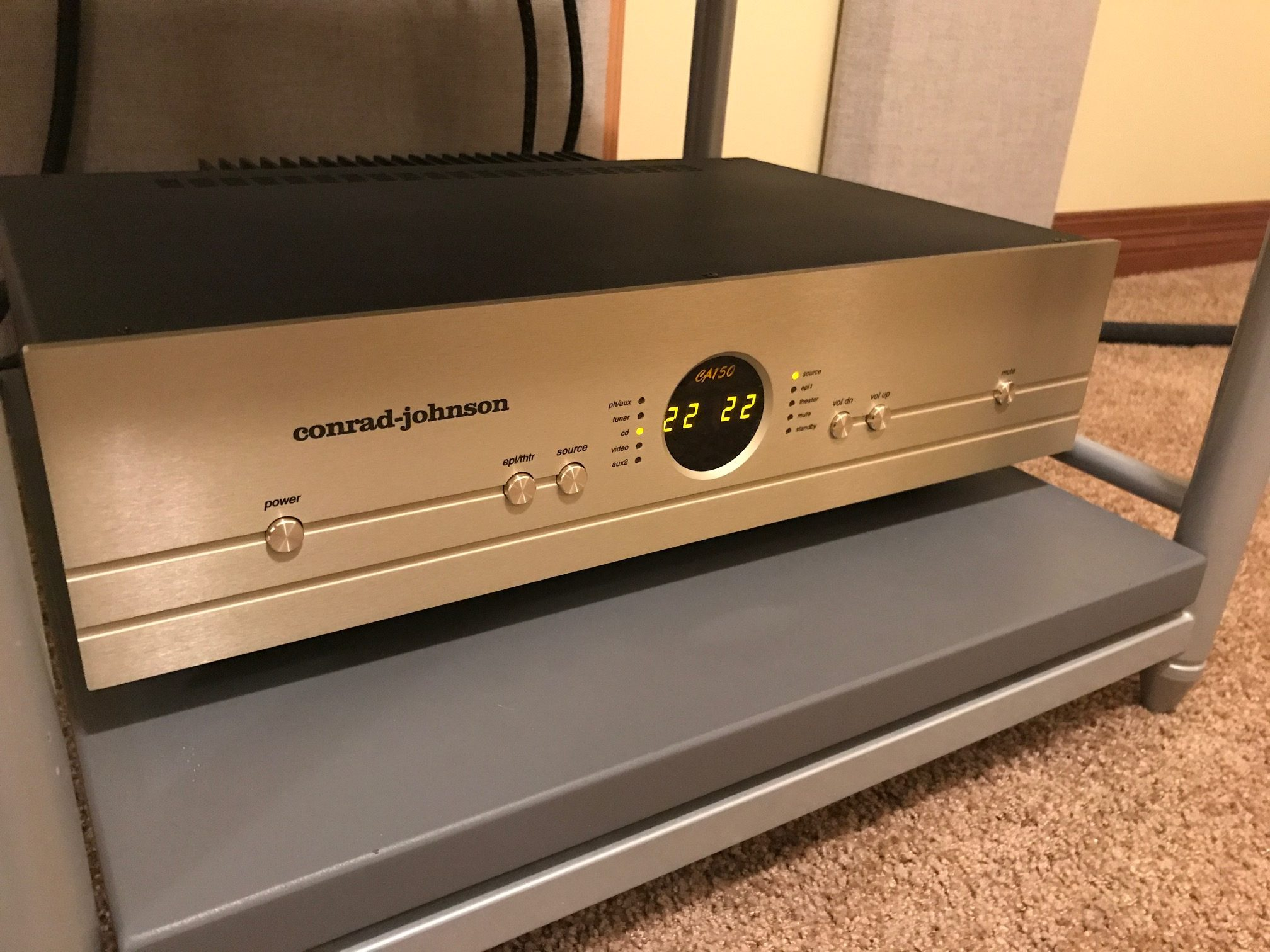 Conrad Johnson Ca150 Control Amplifier Class G H Amplifiers Do They Deliver On Their Promise Of High Audio So How Did The Sound In A Word Glorious Bill And Lew Have Knack For Imbuing Products With An Ineffable