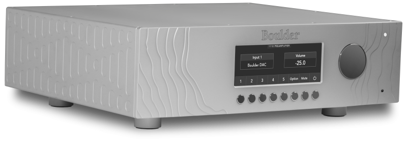 Boulder Amplifiers Announces the 1110 Stereo Preamplifier.