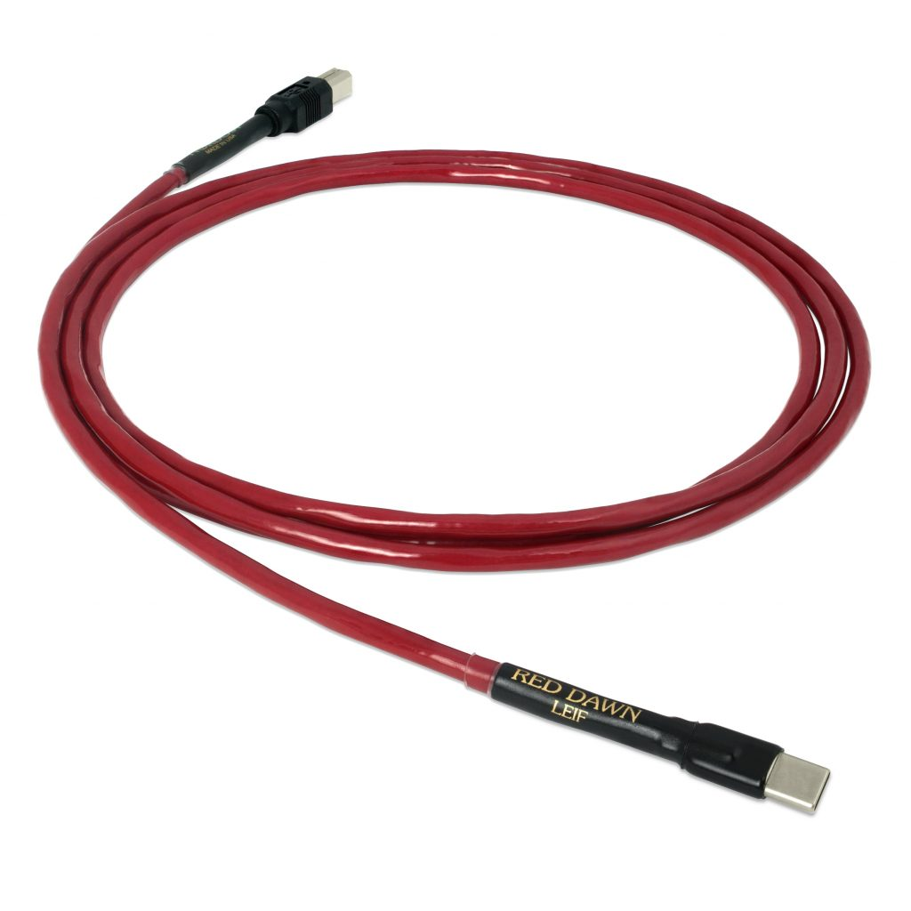 Nordost is Proud to Announce the Introduction of the New, Red Dawn USB Cable