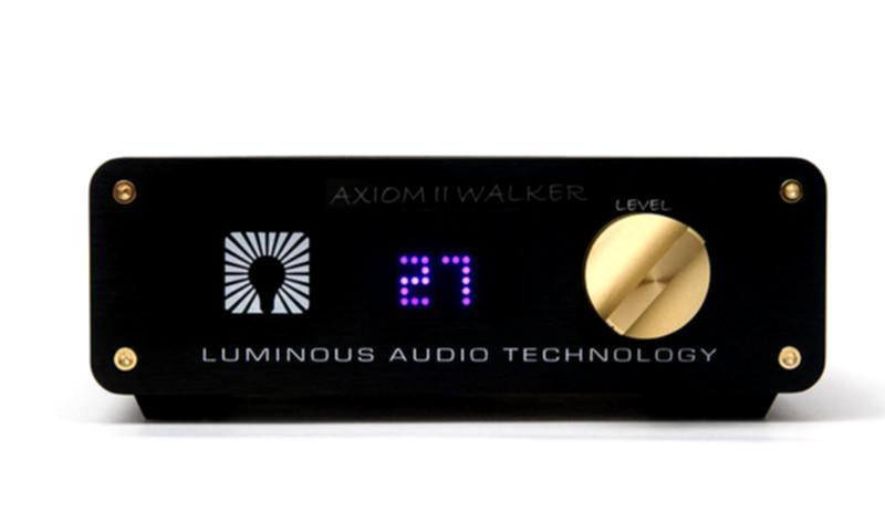 The Luminous Audio Technology Axiom II Passive Preamplifier, with Walker Mod and Remote Volume Control