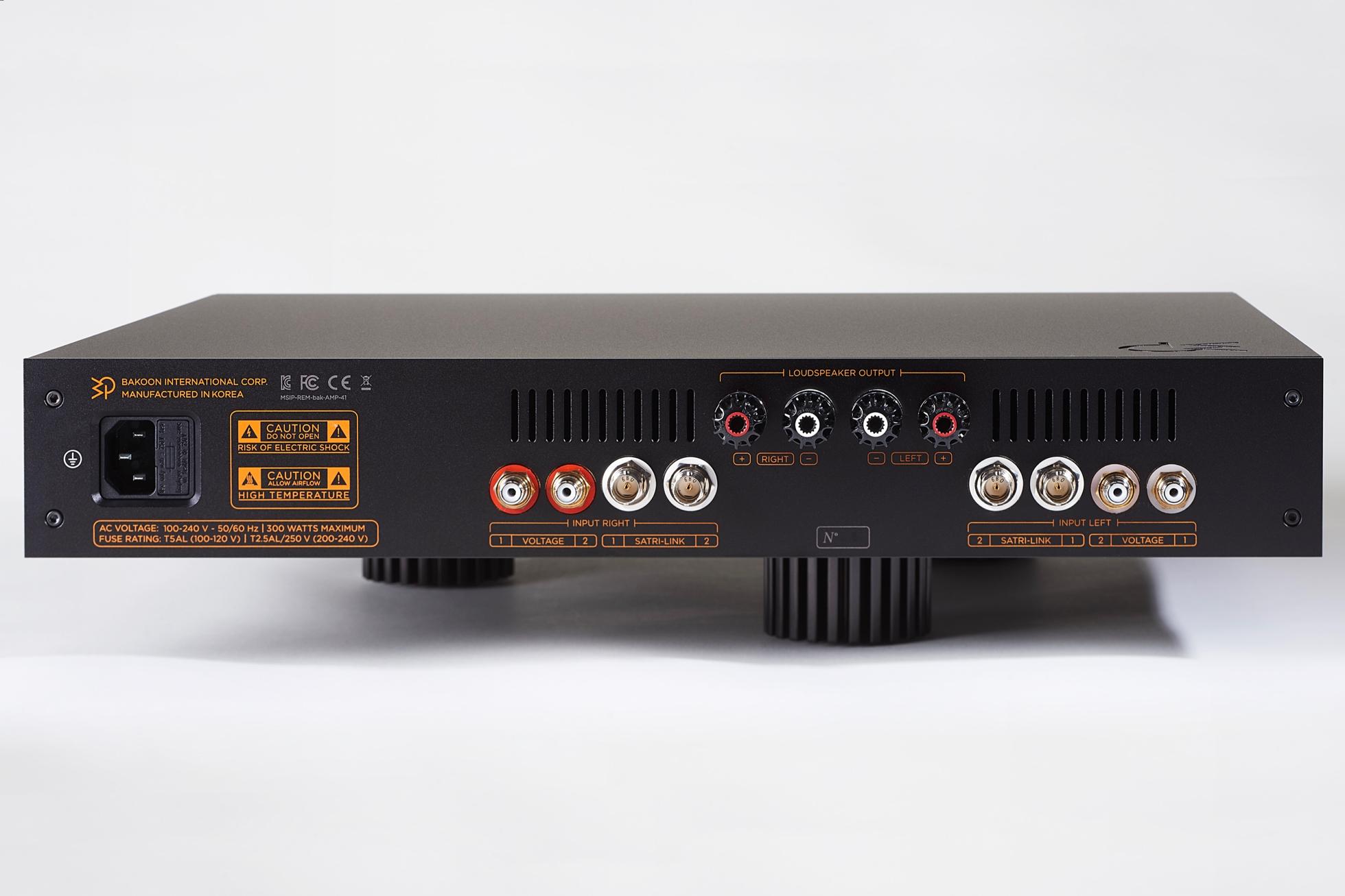 Bakoon International Amp 41 Amplifier Vintage 60 Fuse Box