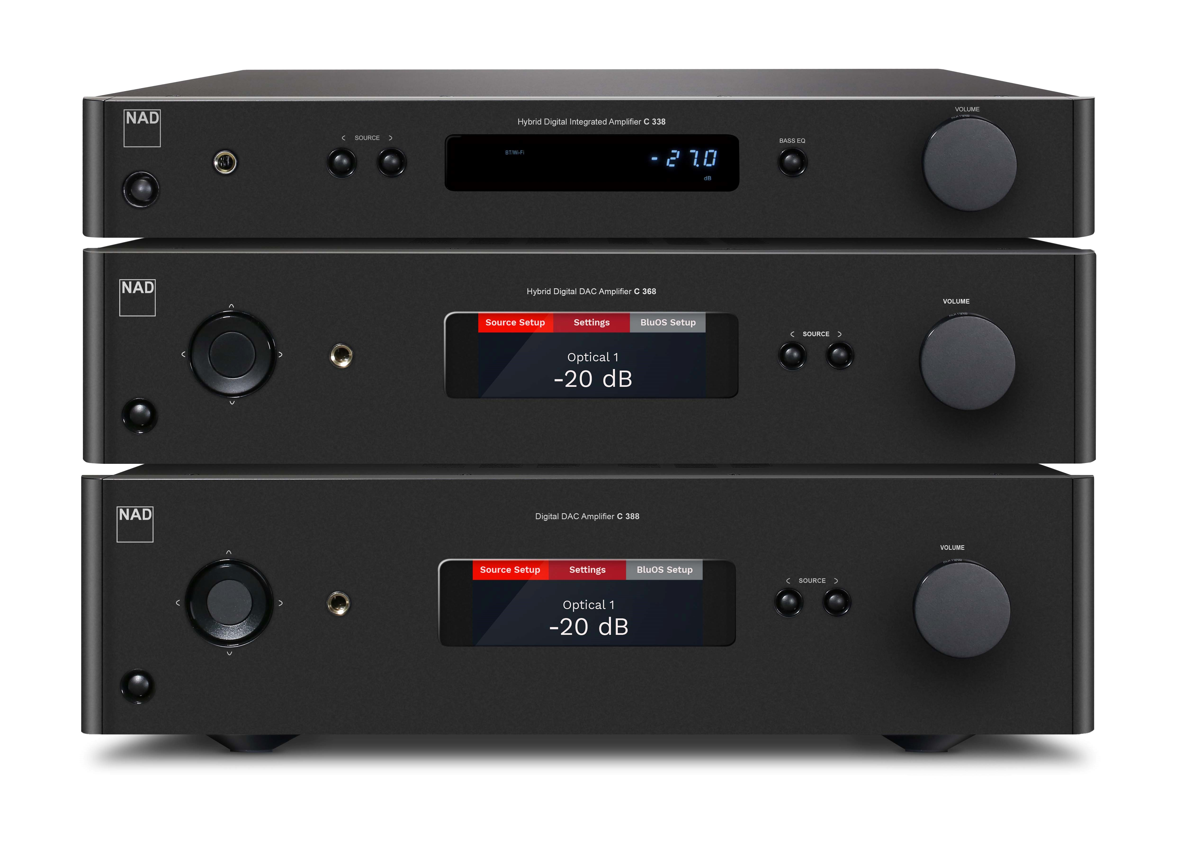 NAD Completes Makeover of Classic Integrated Amplifiers with