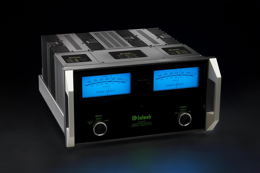 mcintosh mc462 quad balanced power amplifier. Black Bedroom Furniture Sets. Home Design Ideas