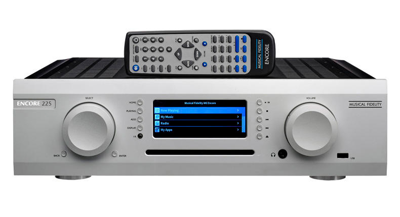 The New Apartment Lounge: Musical Fidelity's Scrumptious M6 Encore 225 Integrated Amplifier