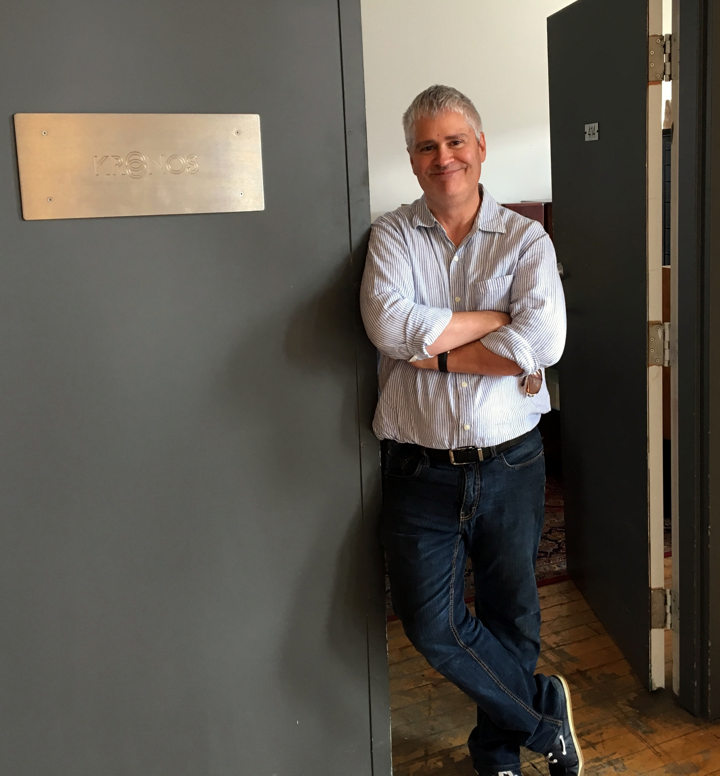 A Day with Louis Desjardins of Kronos Audio