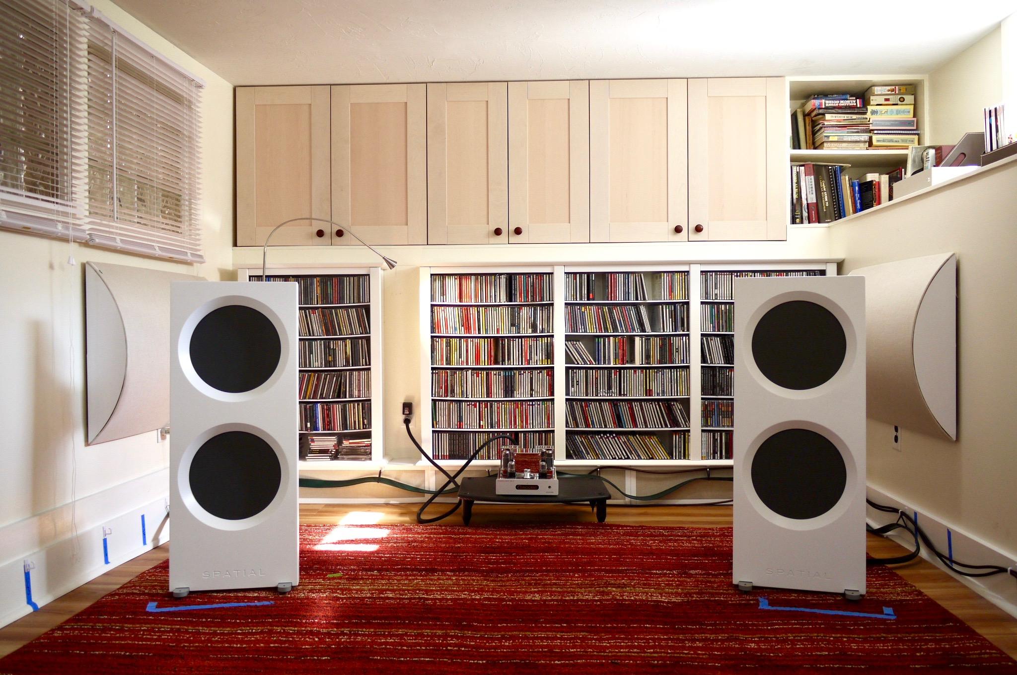 Spatial Audio Hologram M4 Triode Master Loudspeakers