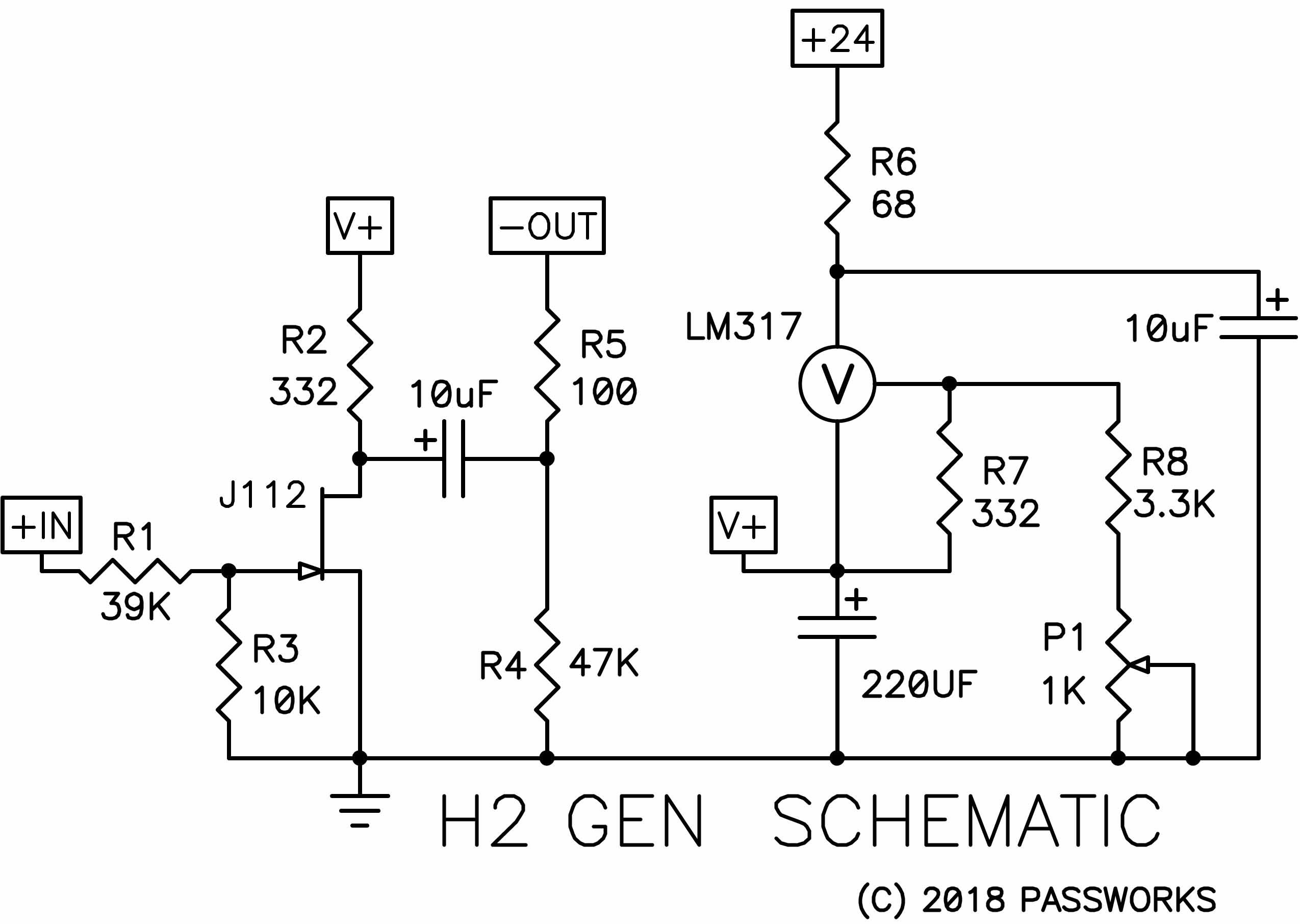 Pass H2 Harmonic Generator Positive Feedback Symmetrical Regulated Power Supply Schematic Circuits Here Is The Circuit That I Made For You To Play With Note Only One Channel Shown But Regulator Serves Both Channels