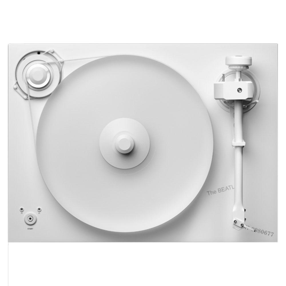 Pro-Ject Releases White Album Turntable