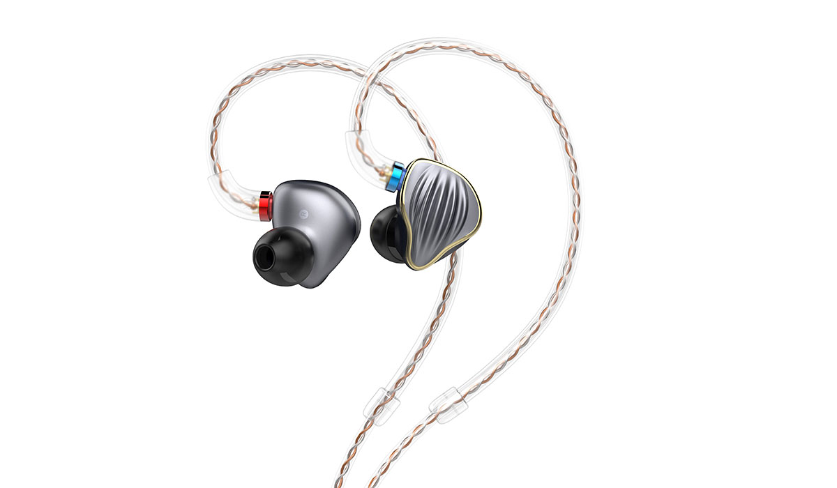 The Fiio FH-5 In-Ear Monitors, with the LC-4.4C Balanced Cable