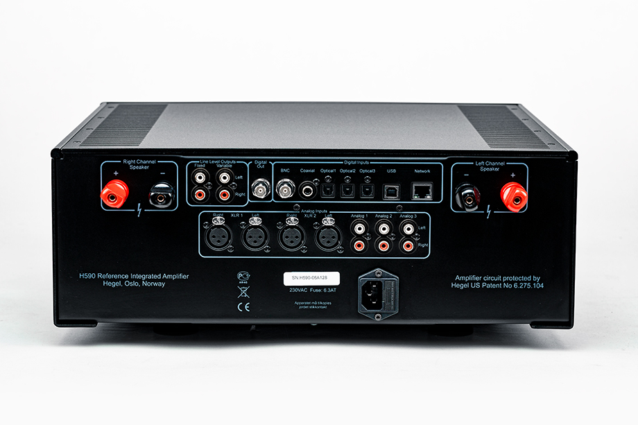Hegel Music Systems H590 - Positive Feedback