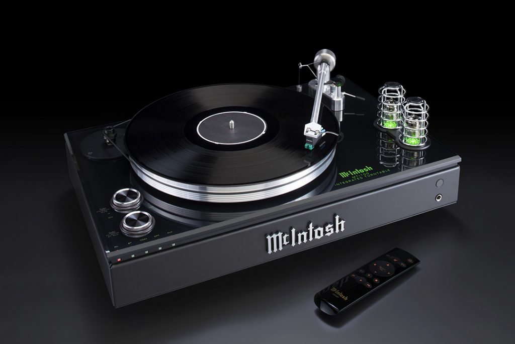 McIntosh Announces MTI100 Integrated Turntable
