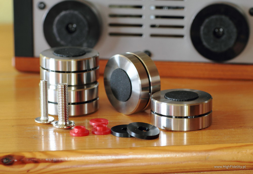 Finite Elemente Ceraball and Cerabase Classic Anti-vibration Feet
