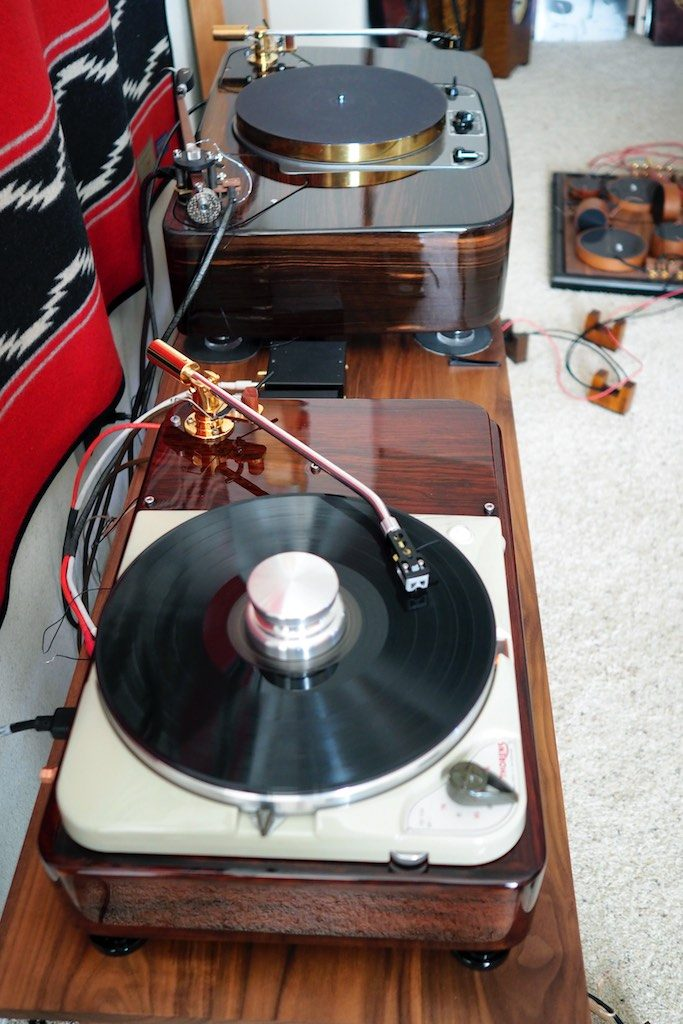 Classic Thorens TD-124 TurntableThree Simple and Cost