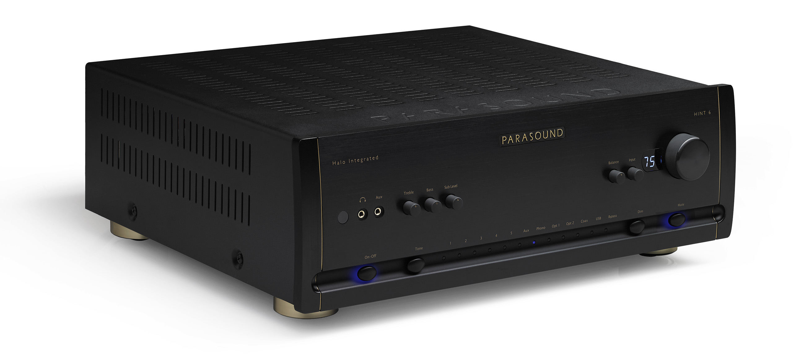 The New Apartment Lounge: Solid-State Joy with Parasound's New HINT 6 Halo Integrated Amplifier