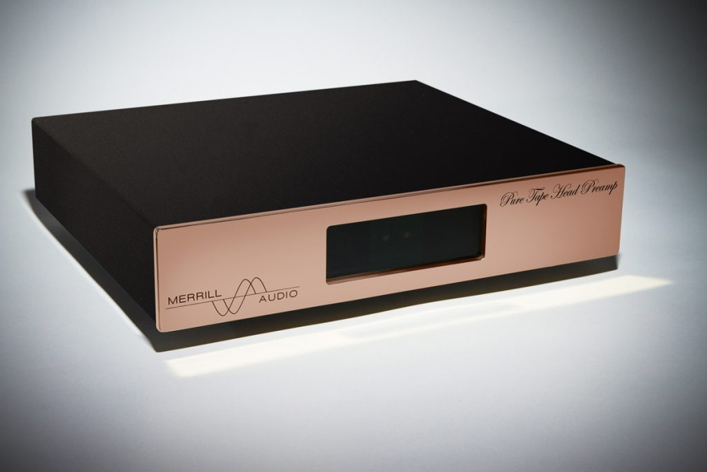 PURE Tape Head Preamplifier for Reel to Reel Tape Decks from Merrill Audio