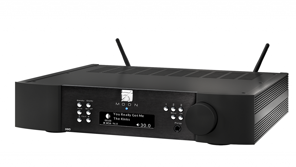 Simaudio Moon 390 Network Player and Preamplifier